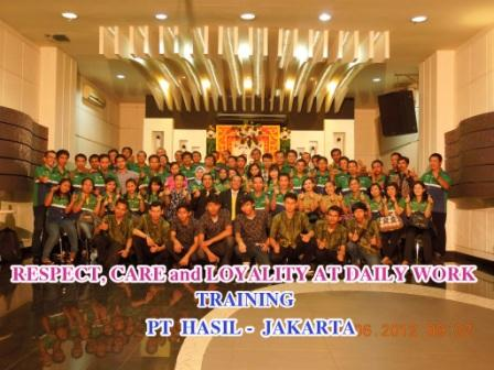 1 7 Training Respect, Care & Loyality Motivation at Work, PT Hasil Fastindo, Batch 3, Jakarta copy